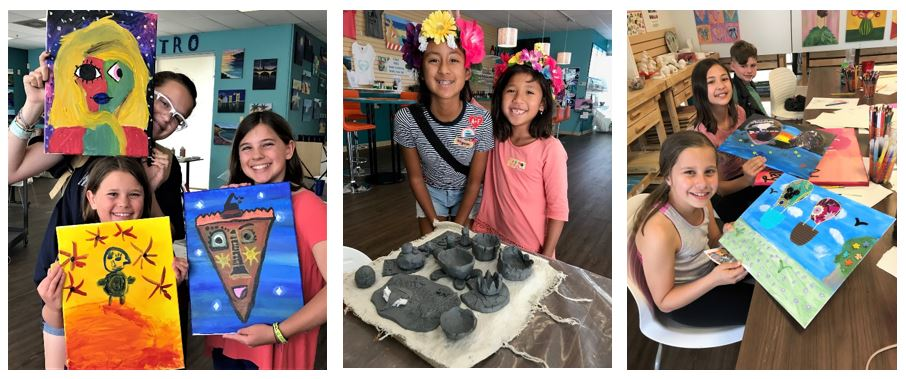 Kids Winter Art Camp January 2-4