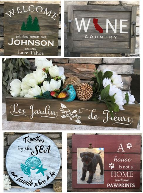 Wood Sign 20 % OFF 1 Week Offer!