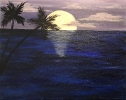 Moonlit Palm