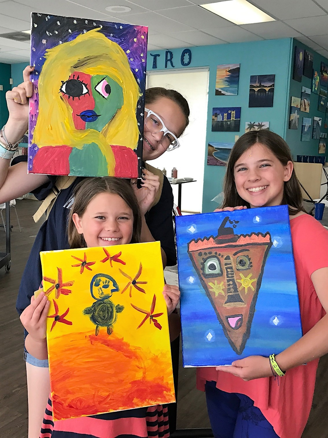 Summer Art Camp for kids ages 6-16